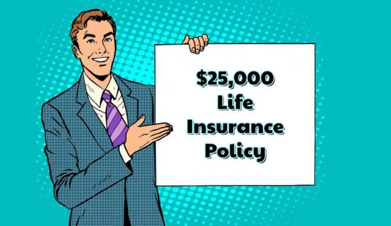 $25,000 Term Life Insurance
