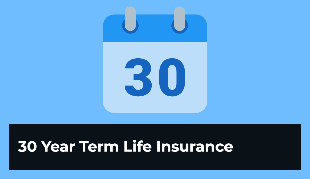 Rates for 30-Year Term Life Insurance