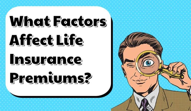 what factors determine your insurance premium
