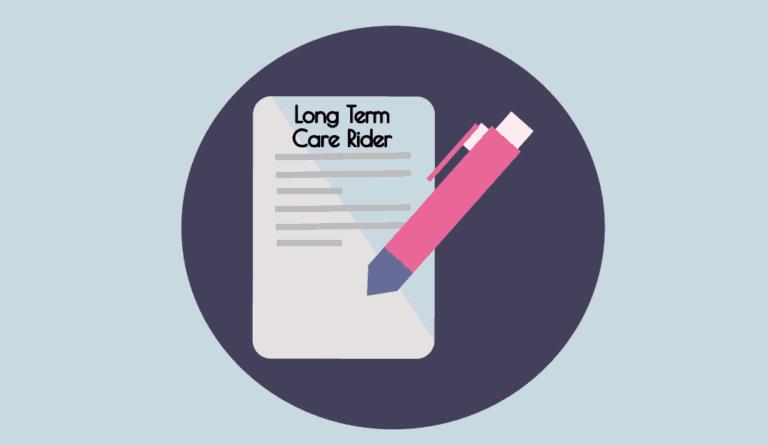 long term care rider