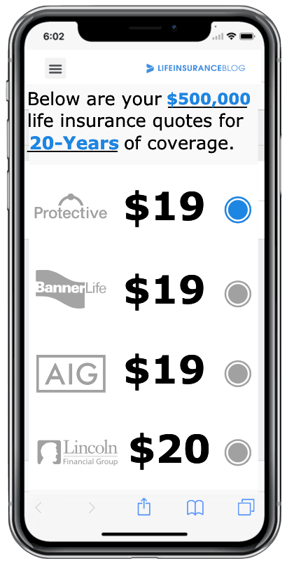Simple way to compare and buy life insurance